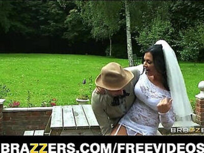 Busty brunette bride Jasmine Jae fucks the brother of the groom | -bride-brother-brunette-busty-cowgirls-
