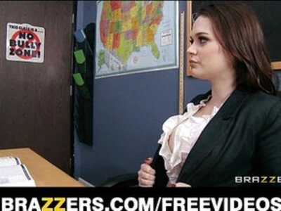 HOT teacher Tessa Lane lets her student motorboat her tits | -students-teacher-tits-