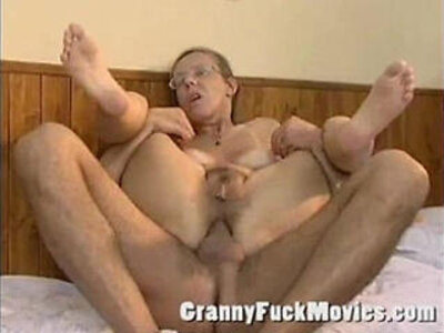 Real old granny playing cowgirl   -cowgirls-grandma-granny-older-