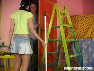Stepbrother Cleaning My Tight Teen Snatch | -stepbrother-stepsister-teen-tight-wet-