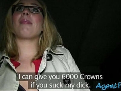 Real amateur blonde girl in glasses screwed up in exchange for money | -blonde-glasses-money-reality-
