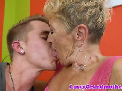 European granny getting her pussy fucked   -european-granny-love-pussy-