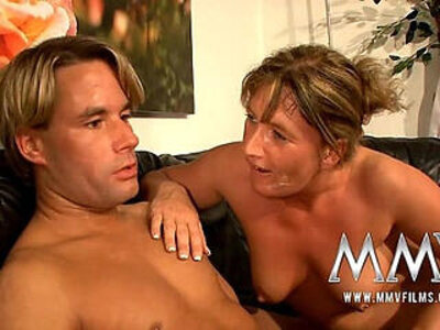 MMV Films Pierced German mature busty wife gets fucked | -busty-german-old and young-piercing-wife-