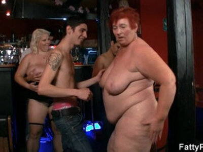 Three fatties join dirty party | -dirty-huge tits-party-