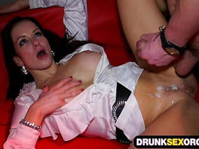 Drunken girls enjoy hard cocks at the filthy party | -big cock-cock-enjoying-girl-party-