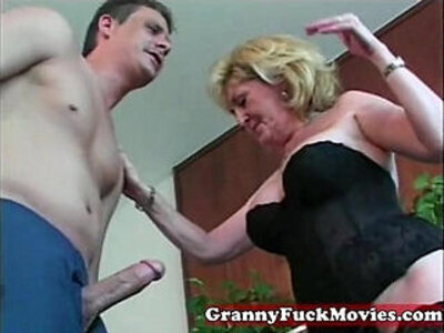Granny loves young | -granny-love-old and young-whores-young-