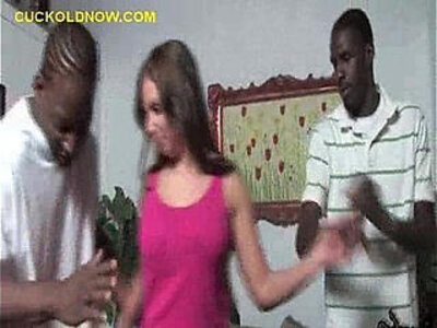 Black Dudes Tend to Wife   -black-dude-students-wife-