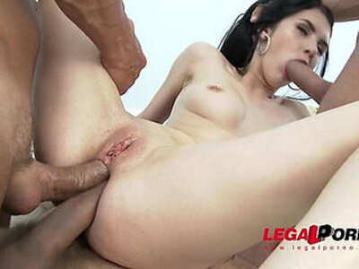 Crazy sexy Crystal Greenvelle anal pleasure, gaping and DAP | -anal-crazy-gaping-pleasure-sexy-