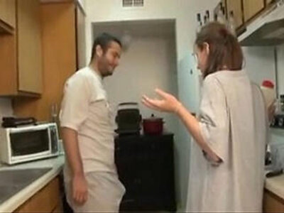 brother and sister blowjob in the kitchen | -blowjob-brother-kitchen-sister-
