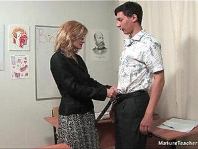 Russian mature teacher Katerina | -russian-students-teacher-