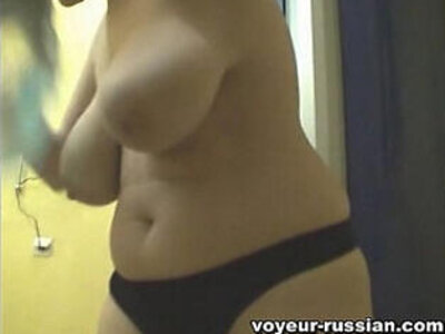 Voyeur Russian Lockerroom | -huge tits-russian-voyeur-