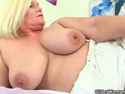 British grannies playing with their soft sensual body | -british-granny-sensual-