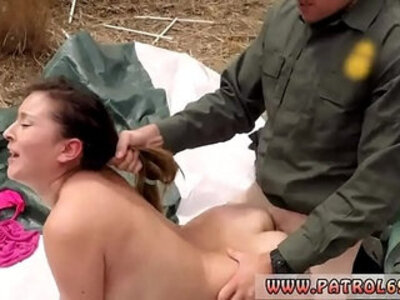Police strip Anal for Tight Latina | -anal-booty-double-latin-officer-striptease-