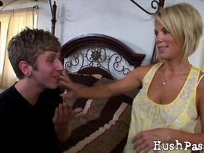 While Her Husband Is Away, Kaylas Asshole Cheats! | -asshole-husband-mommy-