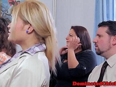 Sub bride punished at the wedding | -bride-punishment-