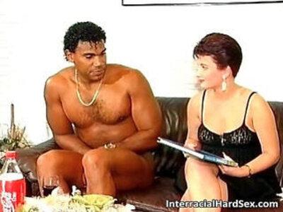 Cute MILF suck big black dick | -bbc-cute-milf-redhead-sucking-