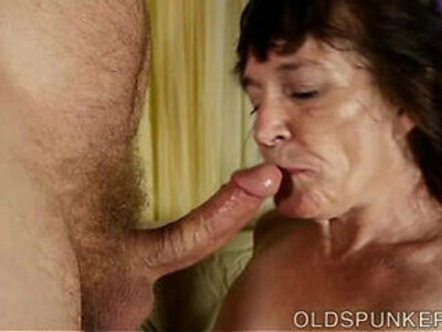 Cock hungry old spunker is a super hot fuck   -cock-grandma-hungry-older-