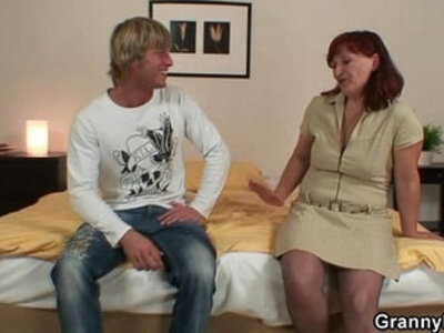 He lures her into cock sucking and riding | -cock sucking-mother-riding-