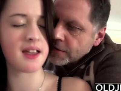 Old Young Amazing TITS girl fucks old man cums in her mouth hardcore | -amazing-big tits-boobs-cum-hardcore-mouth-