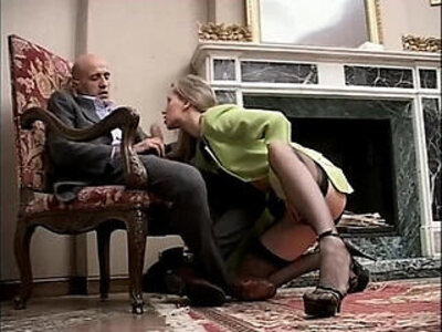 Classy and sexy girl in high heels stockings riding and sucking a cock | -cock-high heels-italian-riding-sexy-stockings-