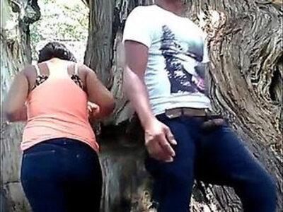 Girlfriend fucking in public park | -girlfriend-hidden-park-public-
