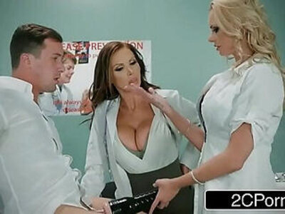 Dirty Nurse With Lucky Guy Nikki Benz, Briana Banks | -3some-dirty-gay-nurse-