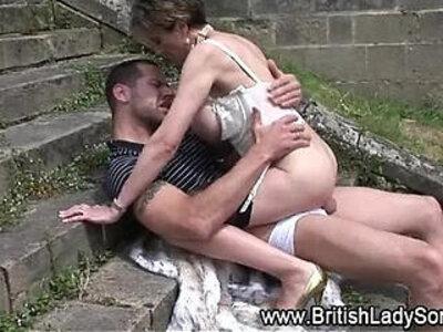 Mature stockings slut sucks fucks | -british-femdom-mature-sluts-stockings-