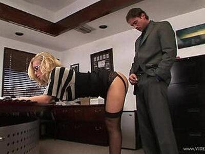 secretary | -glasses-secretary-
