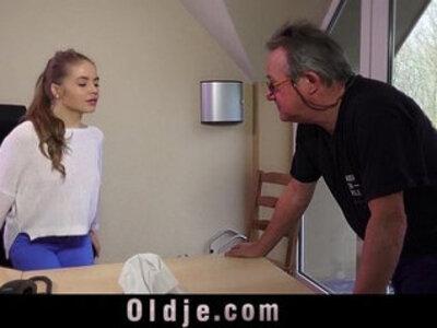 Stunning blonde caught old husband fucking as porn actor   -blonde-caught-husband-old and young-older-stunning-