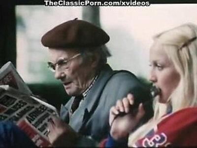 Cathy Stewart, Diane Dubois, Edwige Faillel in vintage fuck clip | -vintage-