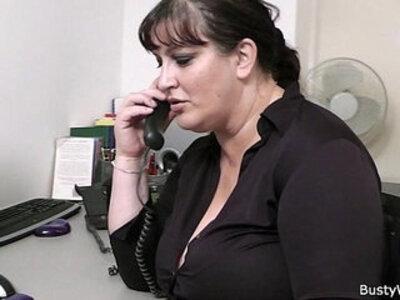 Fat secretary blowjob and office fuck | -blowjob-fat-lady-office-secretary-
