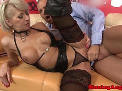 Cocksucking blonde in boots pussyfucked hard | -blonde-leather-