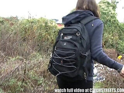 Czech College Girl Outdoor SEX for Cash | -cash-college-czech-outdoor-