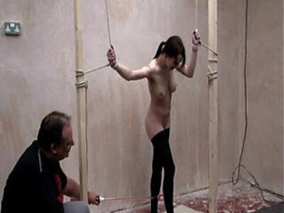 Extreme electro torments to tears and cattleprod bdsm domination of Emily | -bdsm-cum on tits-domination-extreme-