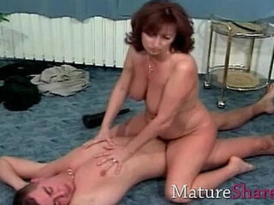 Natural hairy mature gets fuck | -hairy-natural-old and young-