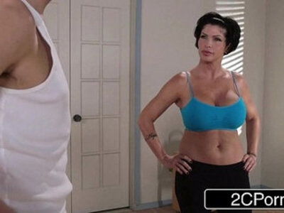 Flexible Yoga MILF Shay Fox Just Wants to Fuck Her New Employee | -flexible-milf-yoga-