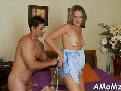 Hawt mom receives pleasure of cock | -cock-mom-pleasure-wild-