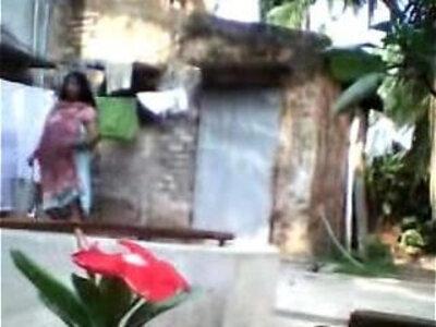 Aunty bath | -aunty-bathroom-indian-